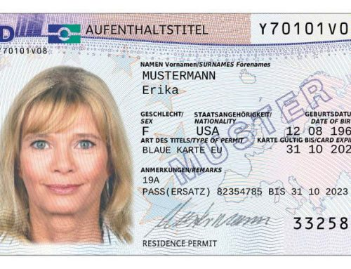 Blaue Karte – Blue Card Germany