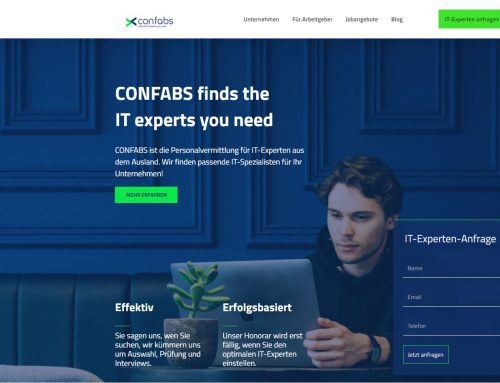 Relaunch CONFABS Webseite